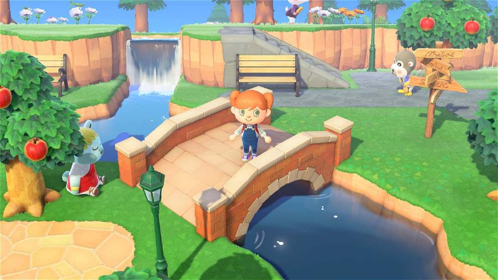Puente en Animal Crossing