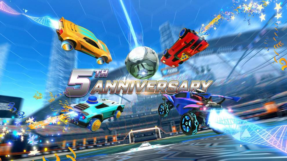Aniversario Rocket League