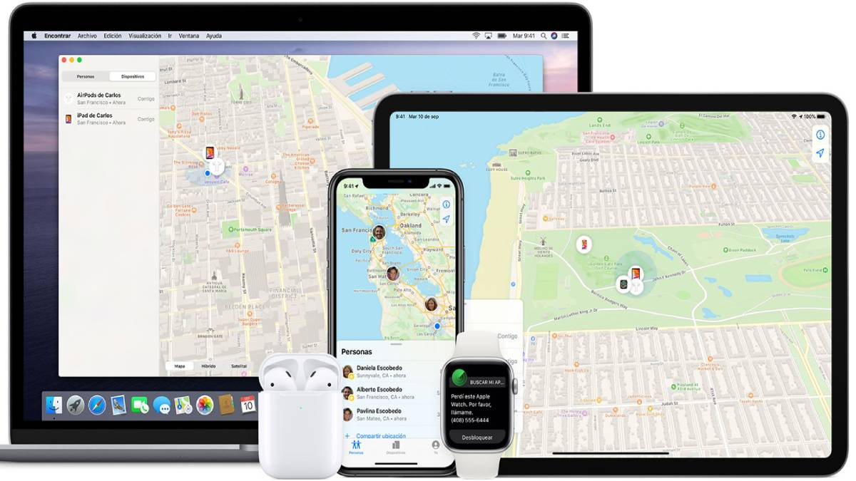 'Find My' de Apple recibe una actualización
