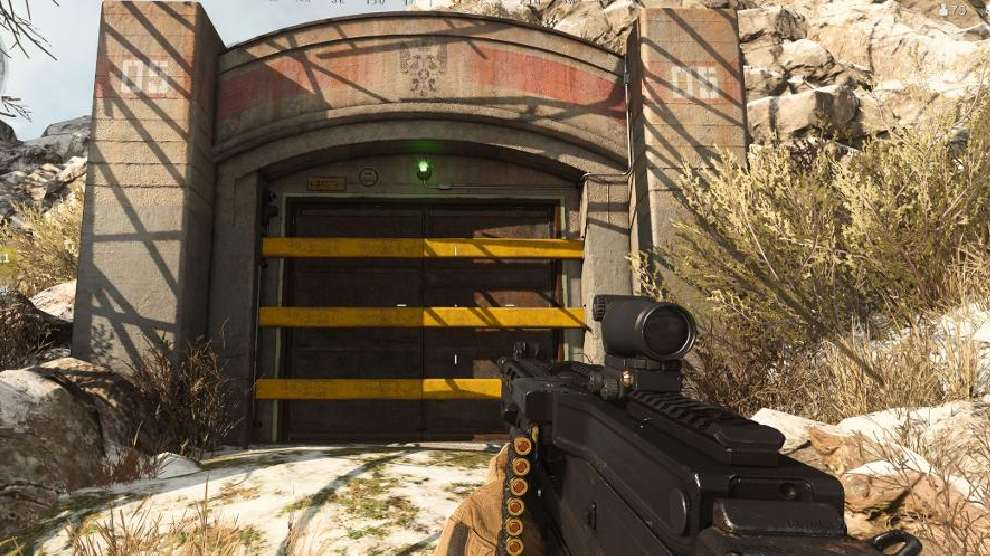 Puerta del bunker en Call of duty: Warzone
