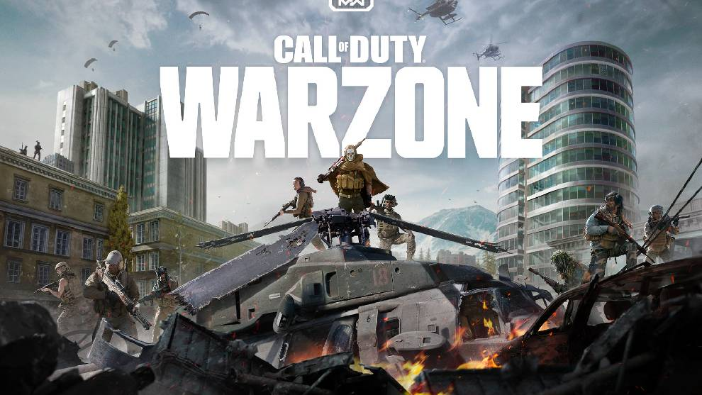 Portada del juego Call of Duty: Warzone