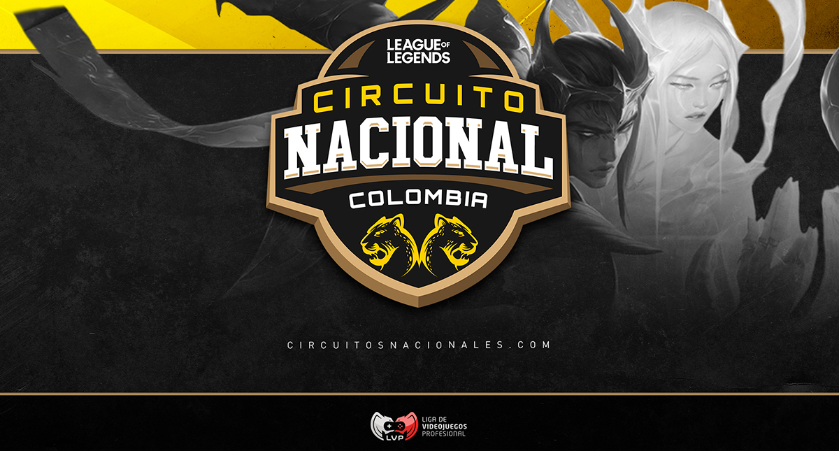 Llegan los Circuitos Nacional 2021 de League of Legends