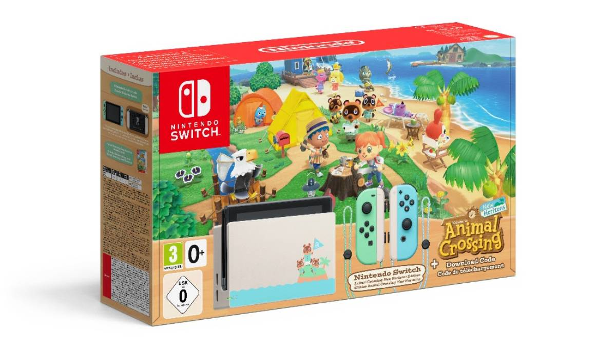 Nuevos Packs especiales de Nintendo Switch