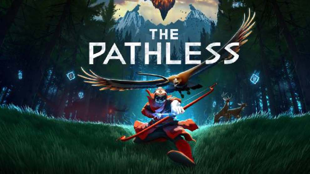 Portada de The Pathless