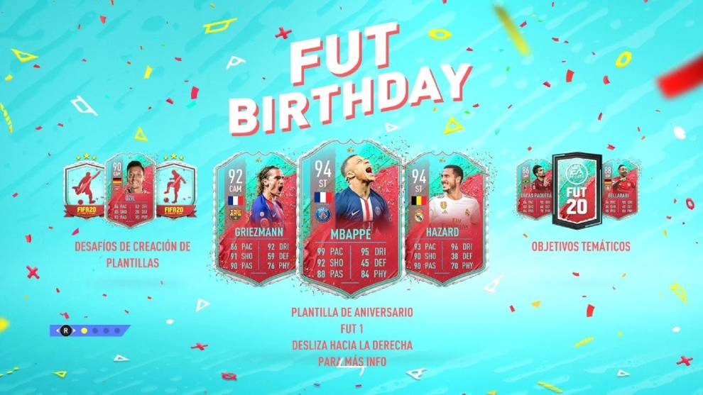 Fut birthday fifa 20