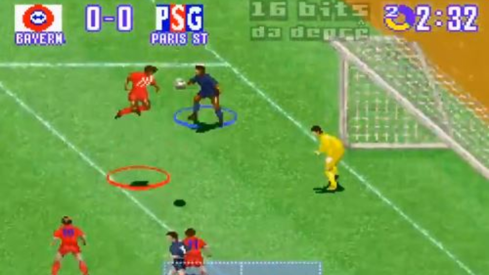 Gol Kingsley Coman en International Superstar Soccer