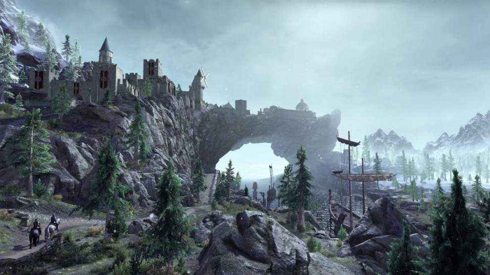 Paisaje del The Elder Scrolls
