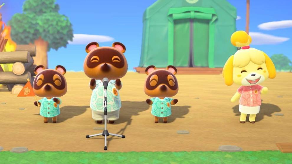 Jugar animal crossing new horizons