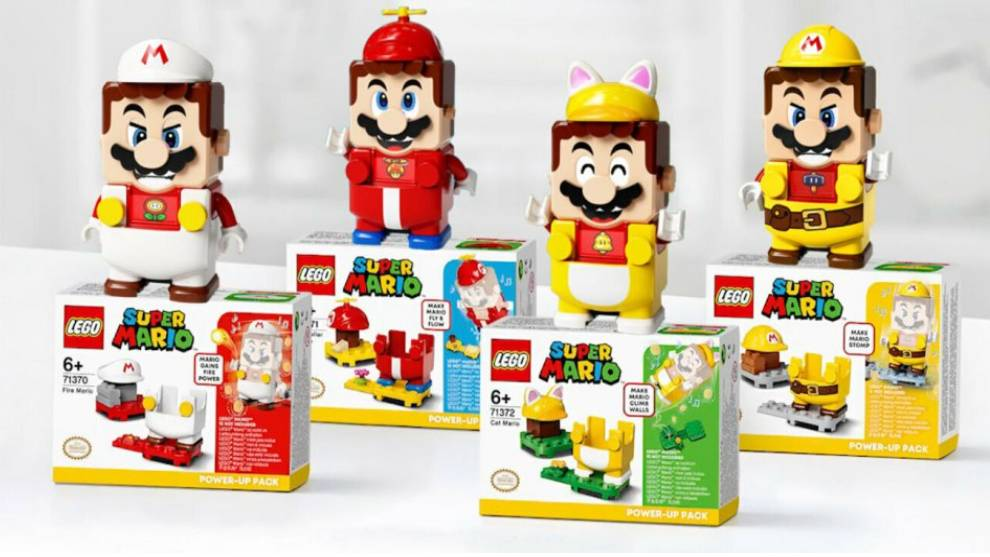 Lego super mario nuevos packs