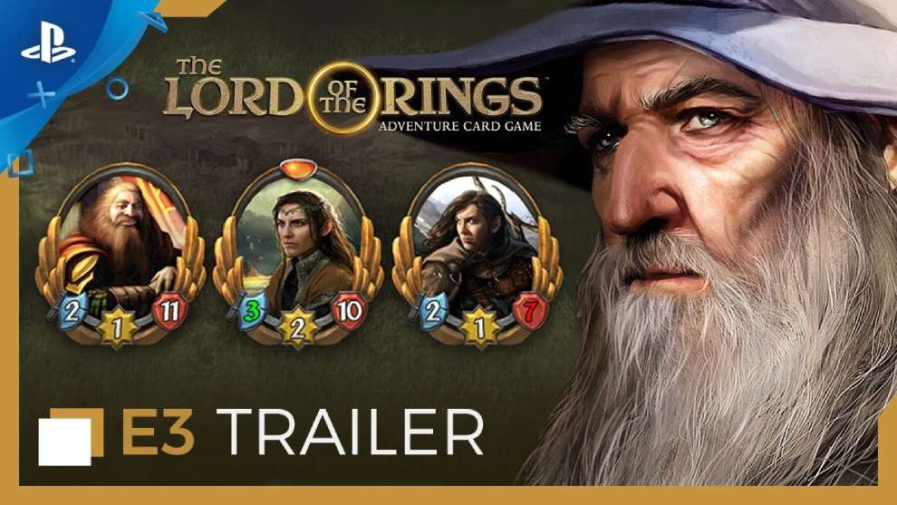 Portada de PS para Lord of the Rings