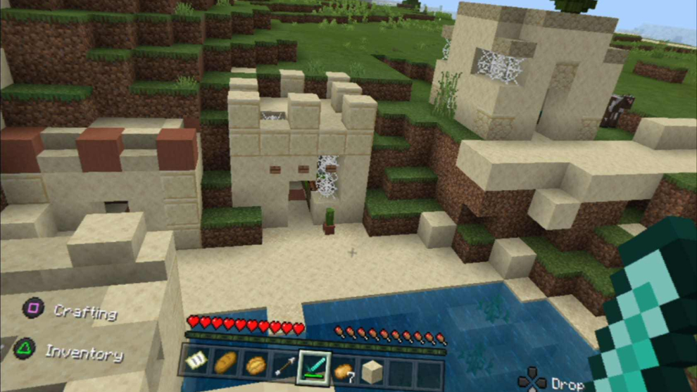 Minecraft realidad virtual en Playstation