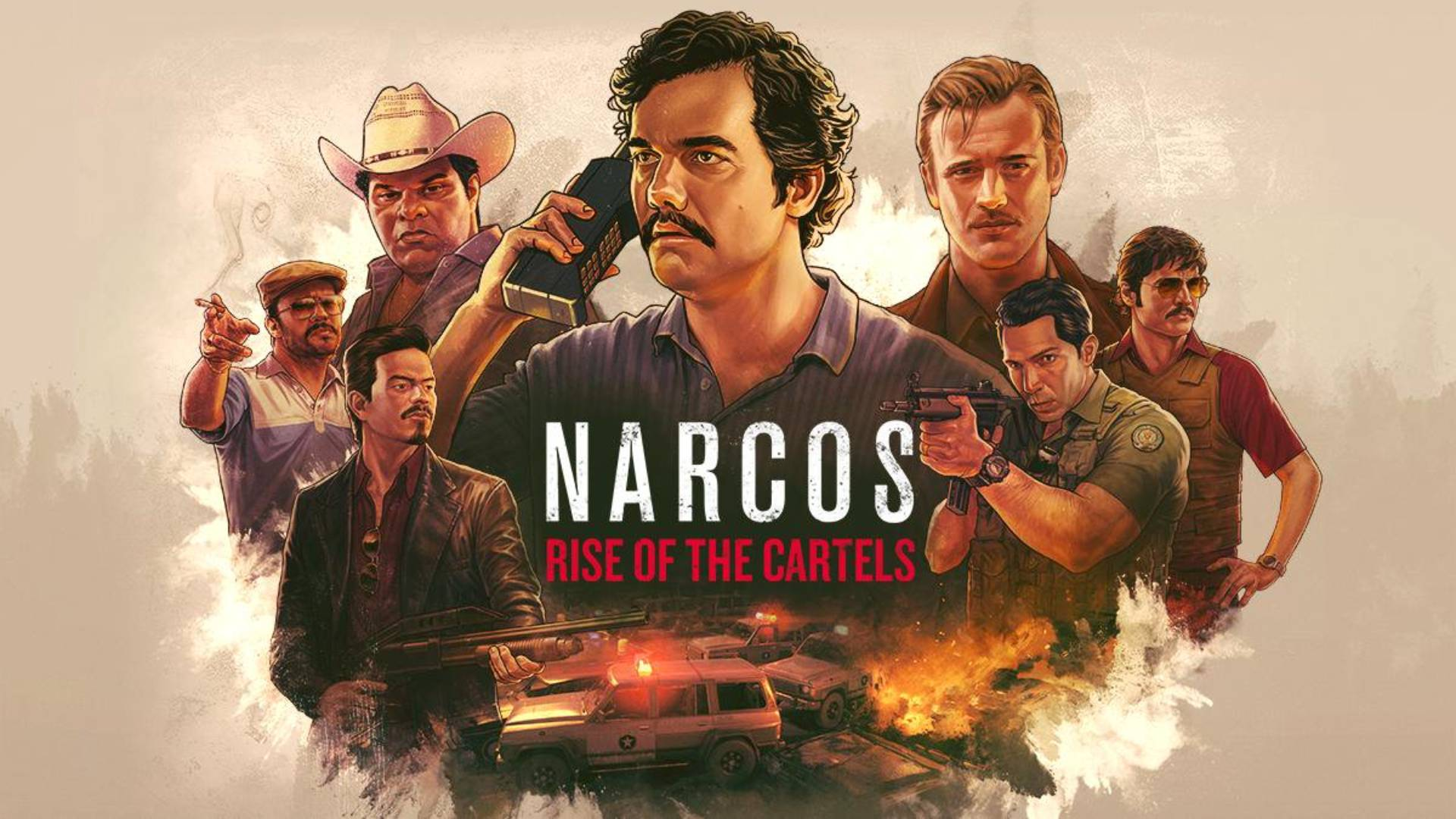 Narcos: Rise of the Cartels lanzamiento