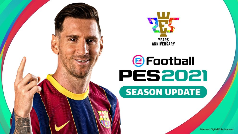 PES 2021 disponible