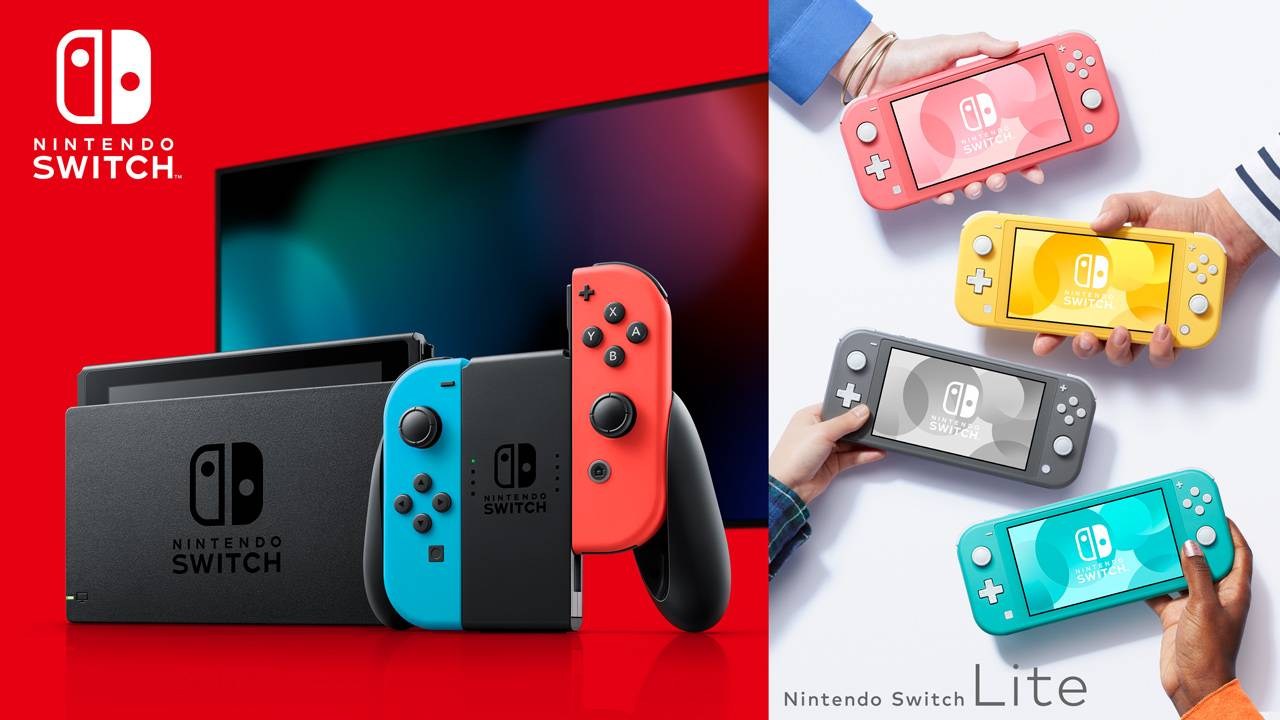 Producción Nintendo Switch
