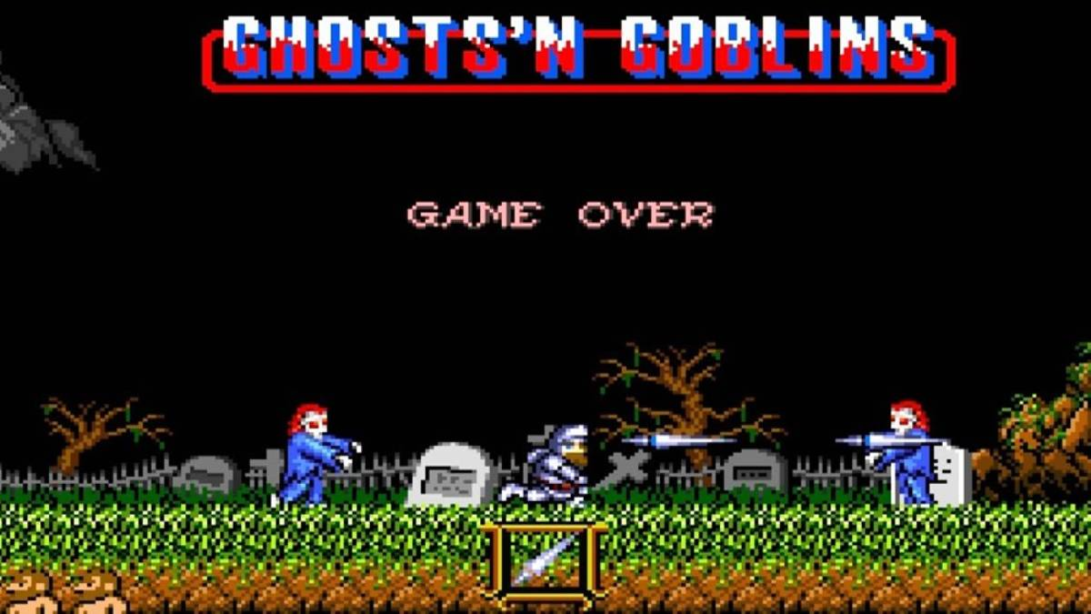 Retro gamer ghosts n goblings