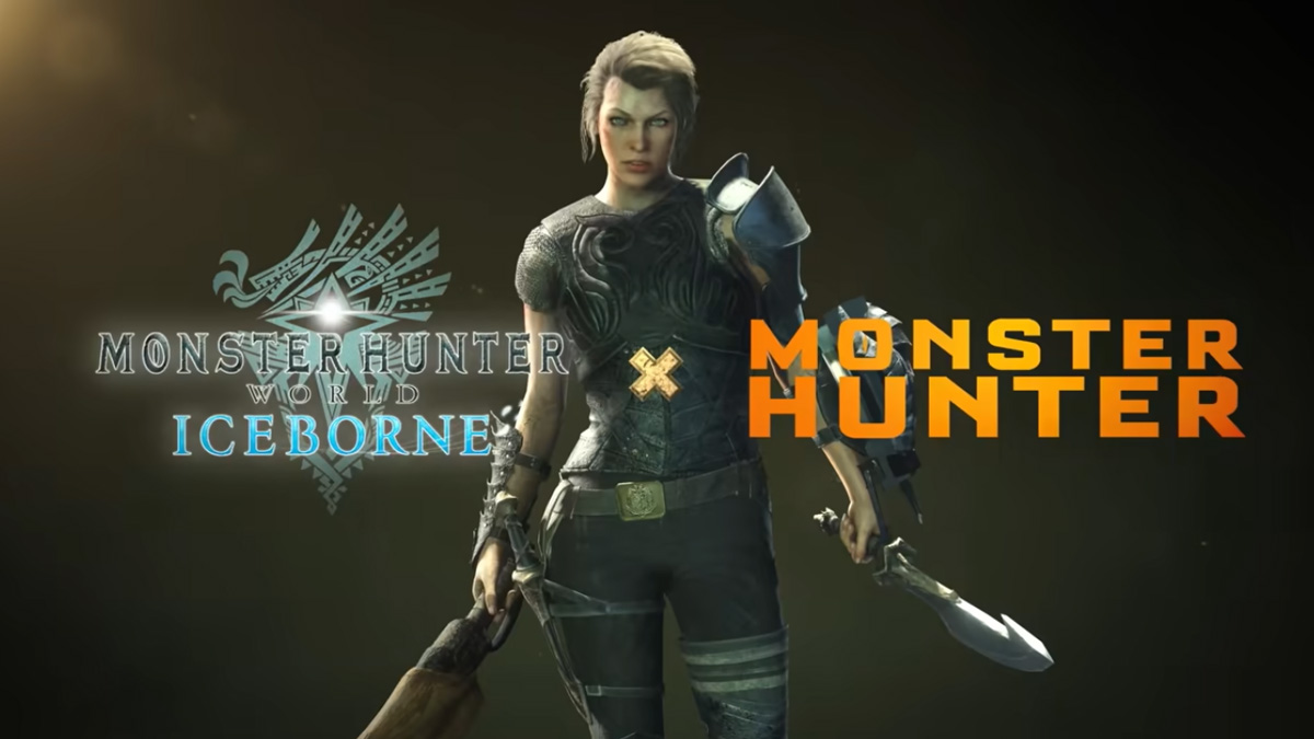 Milla Jovovich será un personaje jugable en Monster Hunter World: Iceborne