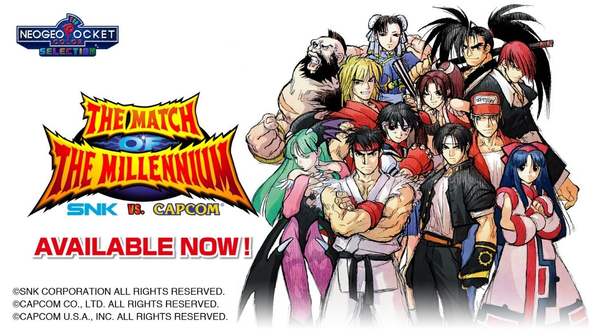 SNK vs. Capcom: The Match of the Millennium regresa y ya está disponible en Switch