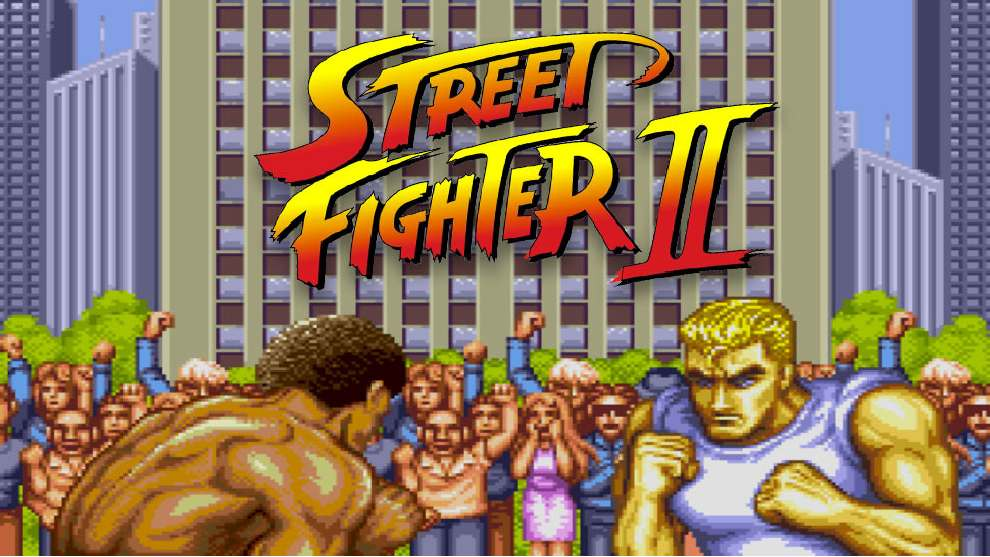 Portada de Street Fighter ll