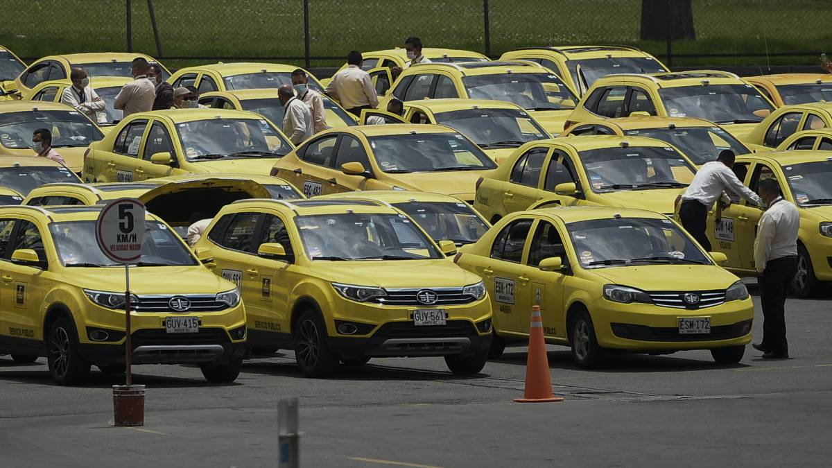 taxis colombia