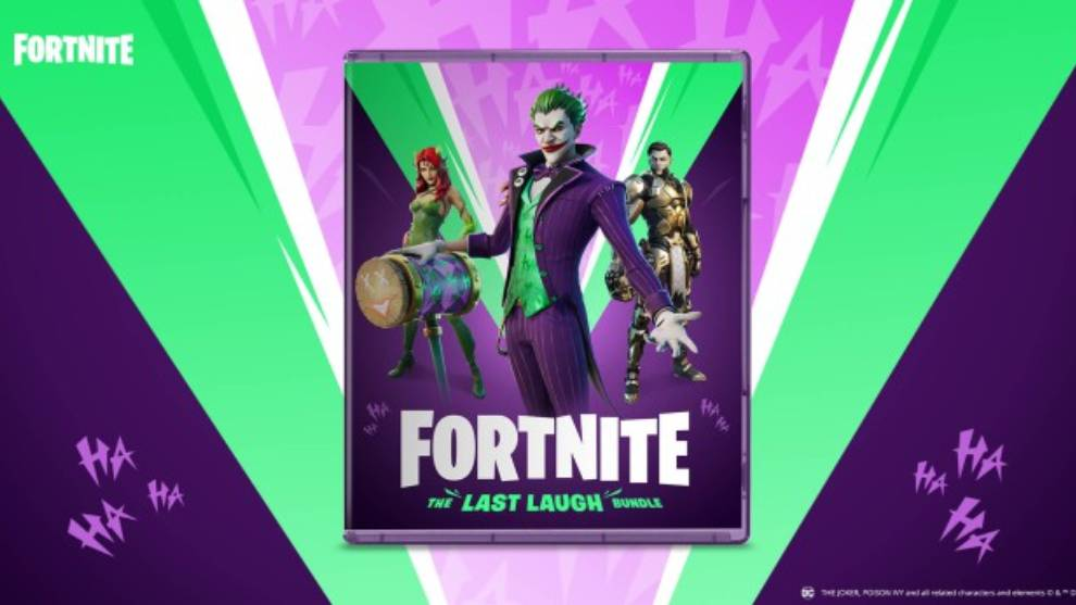 The Joker en Fortnite