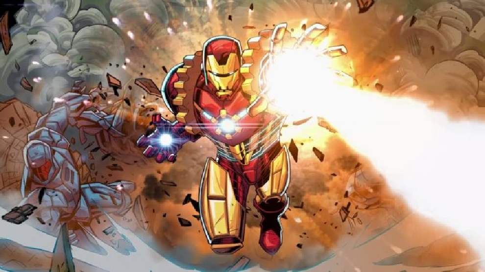 Armadura de iron man- Machine man