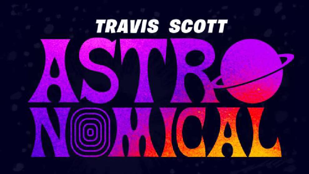 logo del evento de Travis Scott y Fortnite